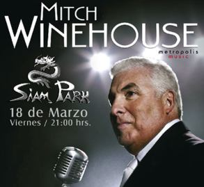 Mitch Winehouse Live im Siam Park