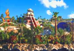 Tower Siam Park Teneriffa